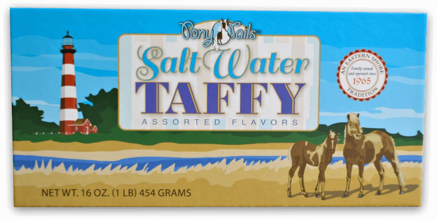 Pony Tails Salt Water Taffy
